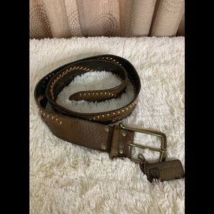 Linea Pelle collection leather belt